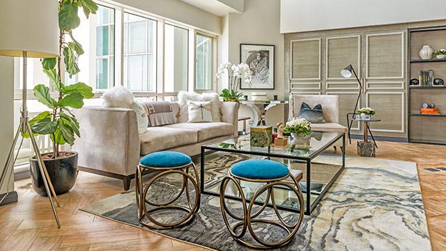 Iza Calzado's Modern Eclectic Condo Unit RL Simple Home Furniture Phoenix Creative Plans