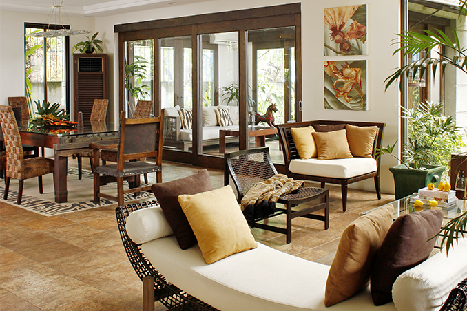 Charming 10 Things We Love About A Filipino Home. Interior Designer ...