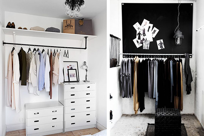 5 Minimalist Closets That Will Inspire You To Declutter Rl