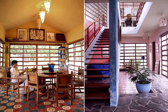An Extraordinary Bahay Kubo In A Modern Setting
