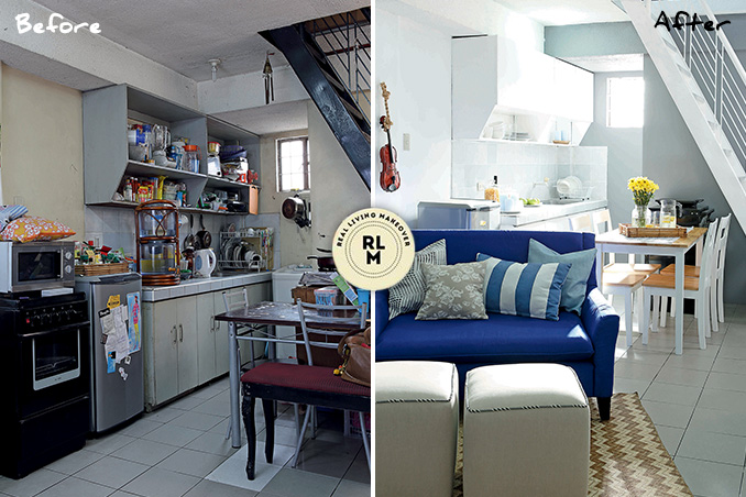 Rl Makeovers A P150 000 Makeover For A 30sqm Townhouse Rl