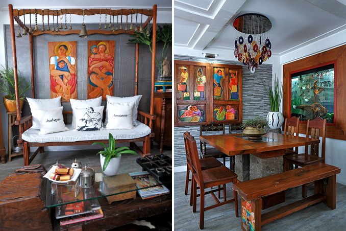 Travel Souvenirs And Thrift Finds In An Eclectic Quezon City Home Rl