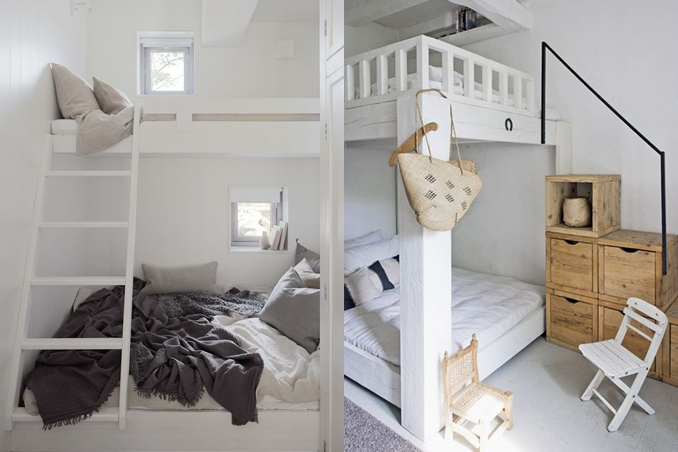 4 space saving bunk beds you 39 d love to sleep in rl for Very small double bedroom ideas