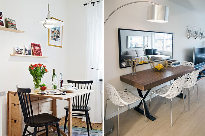 Rl Tips Create A Picturesque Dining Area In Your Small