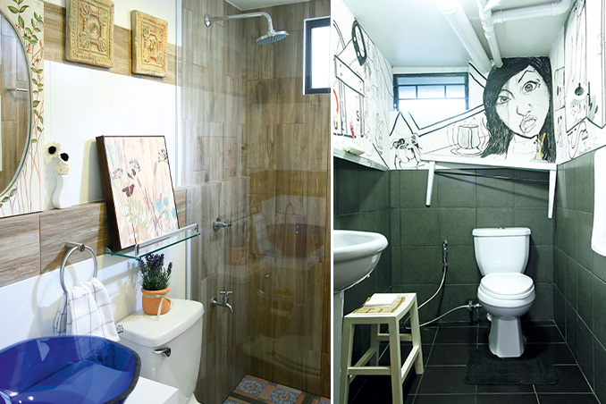 maximizing a small space 4 clever ideas from small bathrooms - Bathroom Designs Philippines