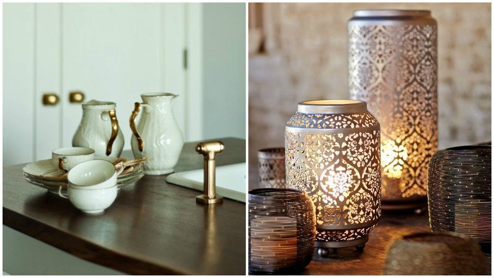 This Is The Best Way To Clean Brass Homeware