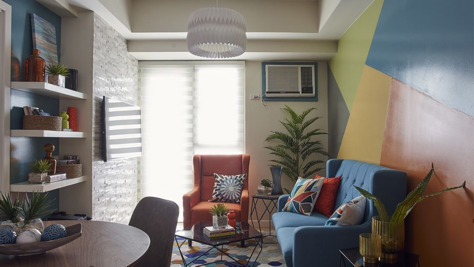 This Two Bedroom Condo Was Redecorated In Just 5 Days