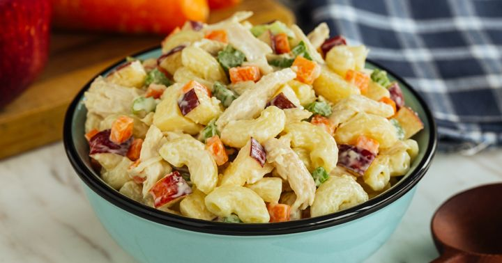 Our website searches for recipes from food blogs, this time we are presenting the result of searching for the phrase macaroni salad with nestle cream. Culinary website archive already contains 1,, recipes and it is still growing.