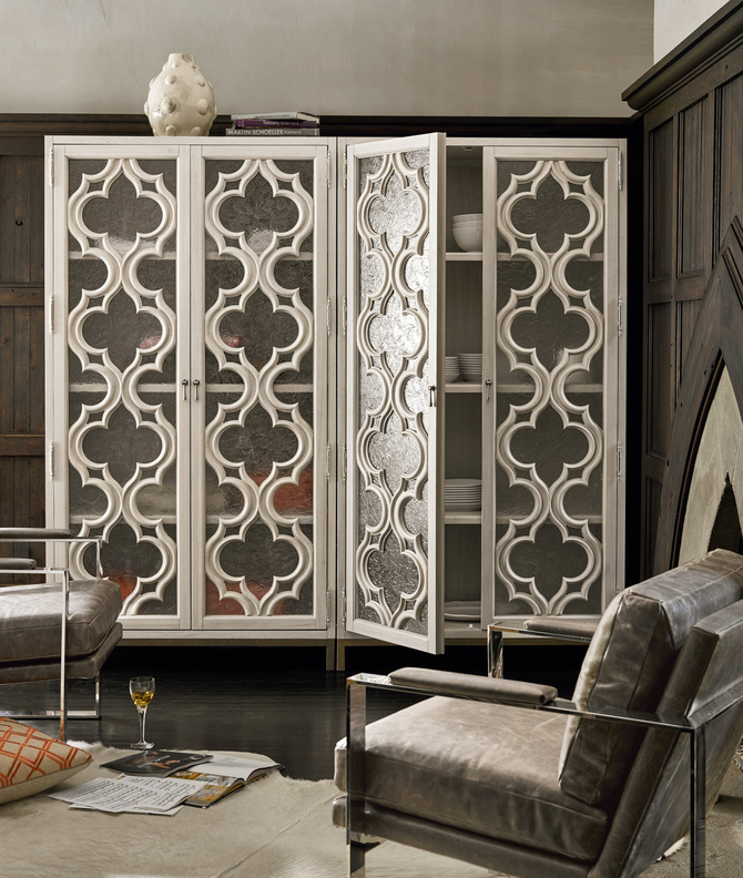 Elan Storage Cabinet. The Doors On This Cabinet Are Reminiscent Of French  Windows That Run From Ceiling To Floor. With Its Intricate Wood Carving  Detail, ...
