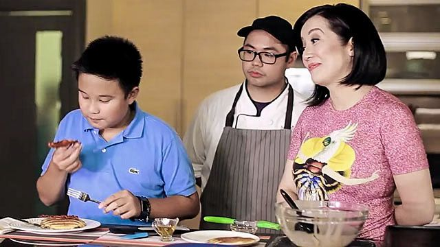 Bimby Aquino-Yap Tries His Hand at Making Pancakes and Crepes