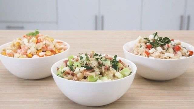 Watch 3 Unique Macaroni Salad Recipes You Can Prep For