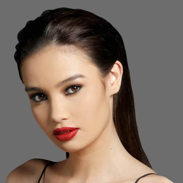 девушка модель мейбелин