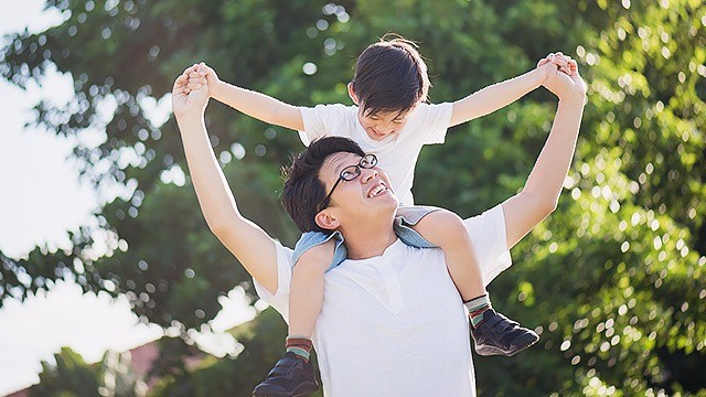 Your Son's Bond With His Dad can Help Him Become a Happy, Healthy Adult