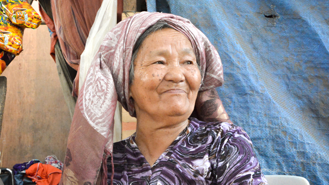 This Lola Runs a Sari-Sari Store in an Evacuation Center to Support Her Orphaned Grandkids