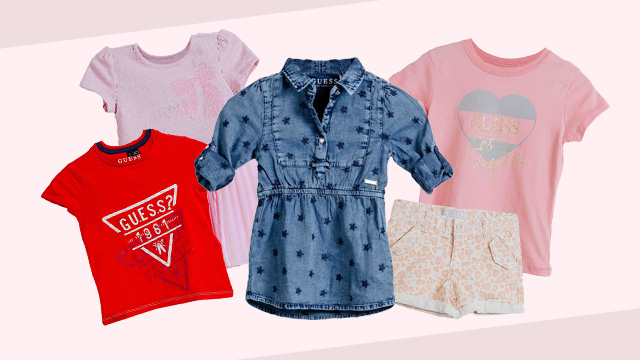 Mix-and-Match Clothes for Little Girls' and Boys' Cute OOTDs