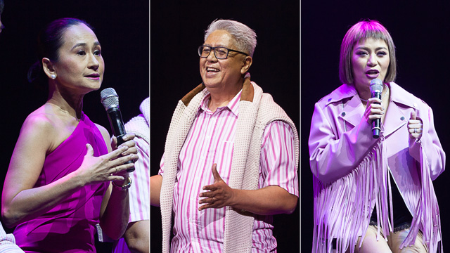 Ryan Cayabyab, Lisa Macuja-Elizalde, and Georcelle Dapat-Sy to Mentor Kids at i-Shine Talent Camp 7