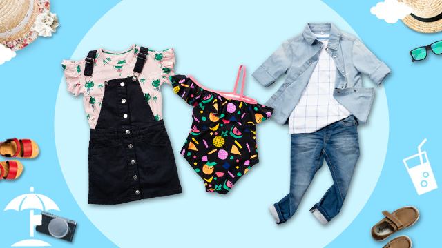 Your Kids Can Re-Wear Any Piece in This Summer Capsule Wardrobe