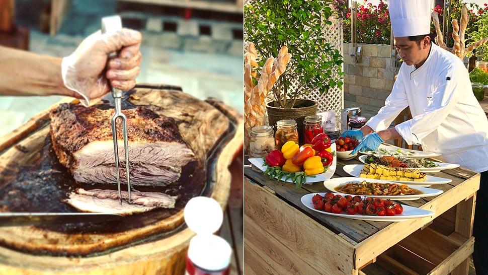 Solaire's Grilling Party Celebrates International Cuisine
