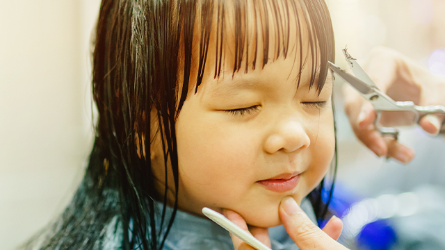 Look! 6 Hairstyle Ideas for Your Little One's First Haircut