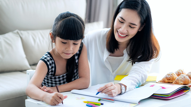 How A Schedule Or Routine Can Help Your Child (And You) During School-At-Home Time