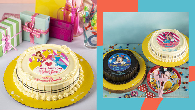 At P450, You Get A Disney Cake For A Virtual Birthday Party