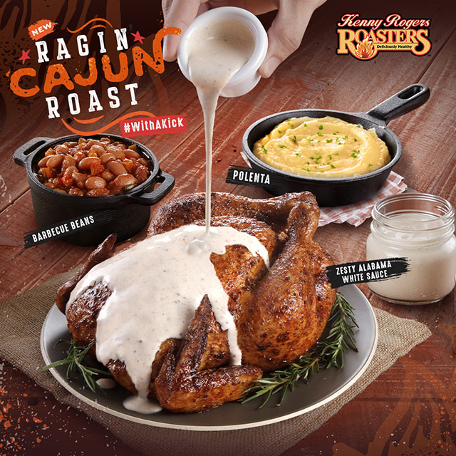 Kenny Rogers New Cajun Roast Chicken Is An Ode To Its Southern Roots