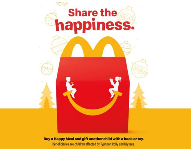 'Tis The Season Of Giving! More Reasons To Buy A McDonald's Happy Meal