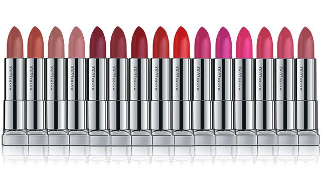 (From L-R: Touch Of Nude, Make Me Bliss, Barely There, Nude Illusion, Plum Perfection, Noir Red, Get Red-Dy, Red-Dy Red, Cherry Chic, Mauve It Up, Pink Shot ...