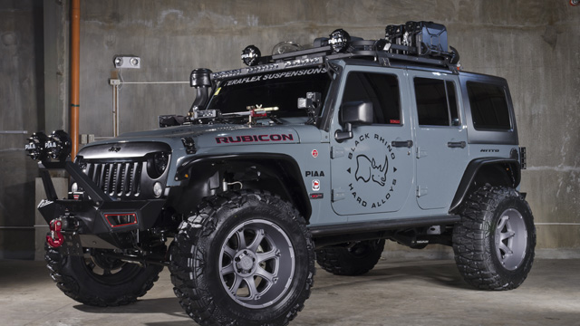 Setting up a 4x4 machine? Check out this custom build