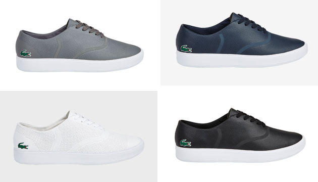Lacoste's Latest Kicks Will Be Your New Go-To Pair