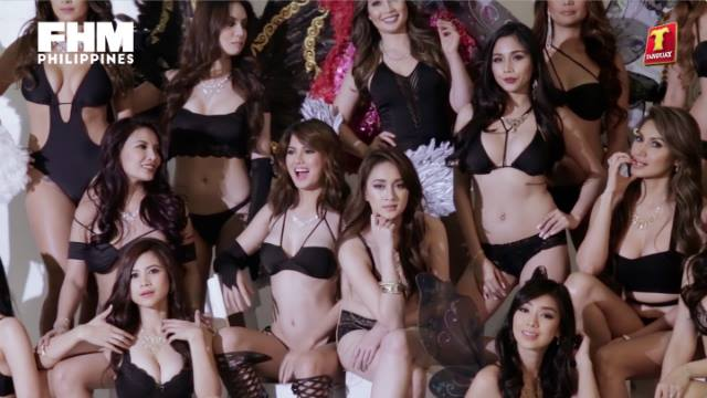 Behind the Scenes at the 2017 Tanduay Calendar Shoot