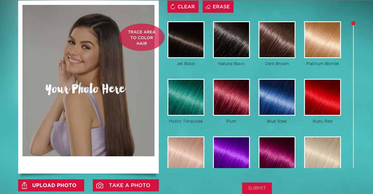 Heres The Hair Coloring Simulator Youve Always Wanted Cosmoph - Hairstyle colour app