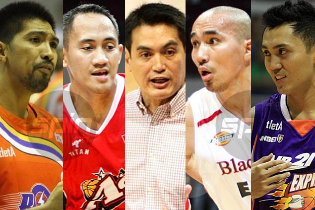 Franz Pumaren lists his five best players during time at La Salle. No. 5 is a toss-up