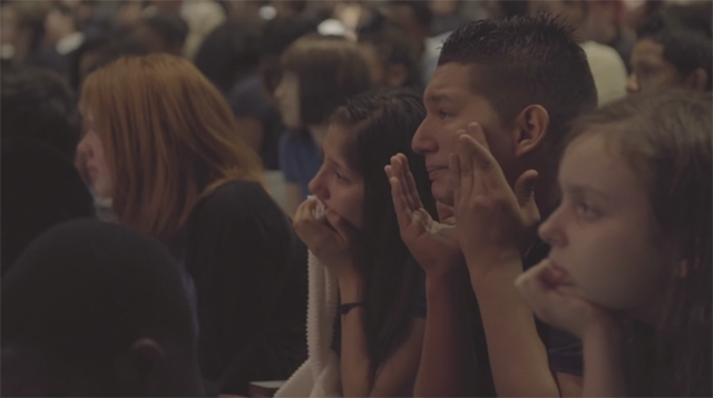 This Made Our Day: Pro Wrestler's Story About His Mother Brings an Auditorium of Students to Tears
