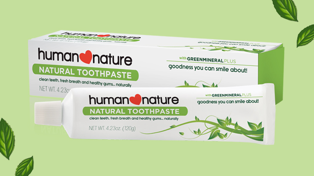 What We Love: Human Nature's Natural Toothpaste