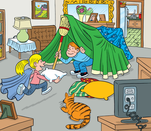 Family fun find 6 words hidden in these pictures sp 6 another tricky one the first three letters of this 5 letter word is on the wall moves to the radio then ends with a blue letter h expocarfo