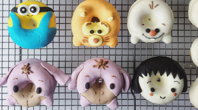 What Beloved Children's Characters Would Look Like as Donuts