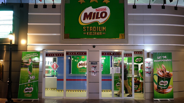 Kids Can Now Role-play as Athletes in KidZania's New MILO Stadium