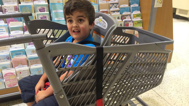 This Grocery Cart Will Make Shopping so Much Easier for Parents of Kids with Special Needs