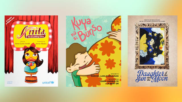 Pinay Celebrities by Day, Children's Book Authors by Night