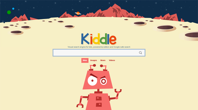 Make Kiddle Your Computer Browser's Homepage