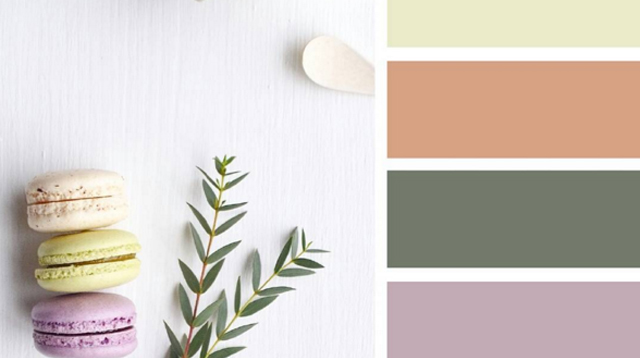 12 Stunning Color Palettes for a Baby's Birthday, Baptismal and Baby Shower