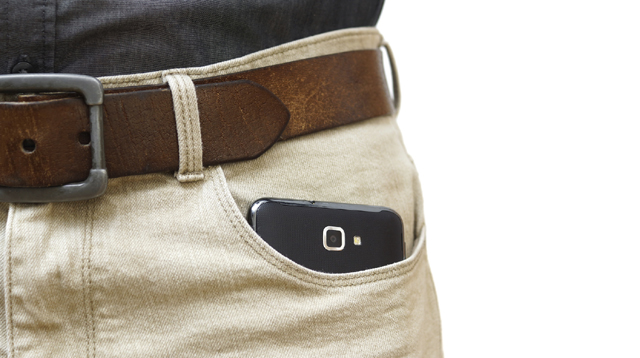 Men, Avoid Putting Your Mobile Phone on Your Pants' Pocket!