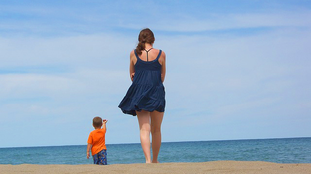 Summer Diaries: Our First Family Vacation Without My Son's Father