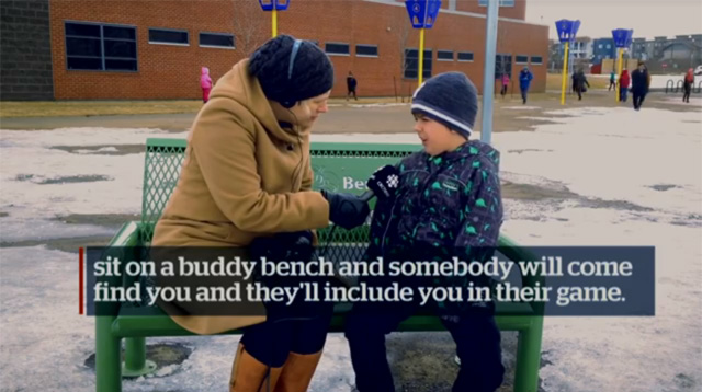This Made Our Day: Why Every School Should Have This Bench