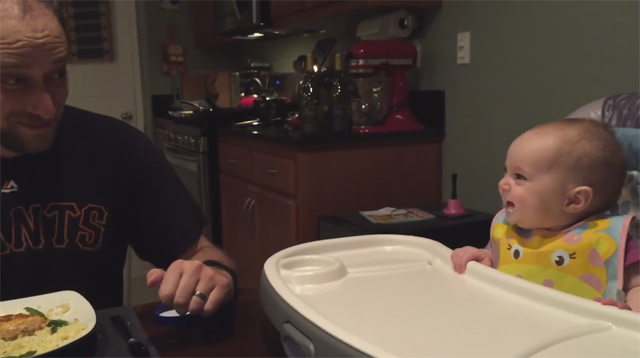 This Made Our Day: Dad Makes His Baby Laugh So Much She Farts!