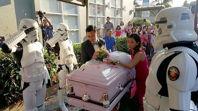 A Wedding Theme for Courageous Caitie's Funeral