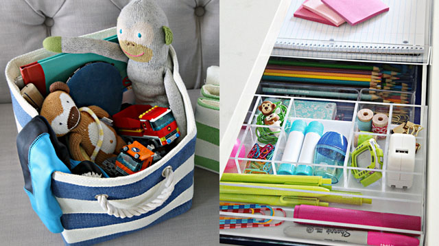10 Inspiring Tips for an Organized Kids' Bedroom