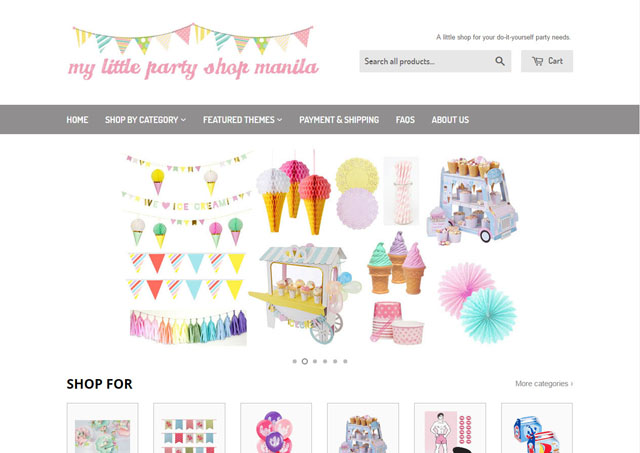 5 online shops that sell everything you need for a kids party sp 2 my little party shop manila solutioingenieria Choice Image
