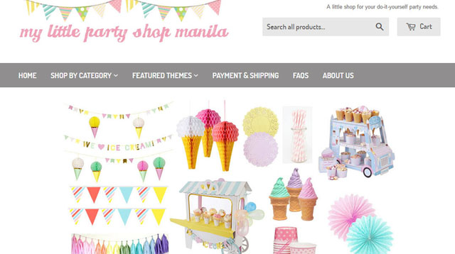 5 Online Shops That Sell Everything You Need for a Kid's Party
